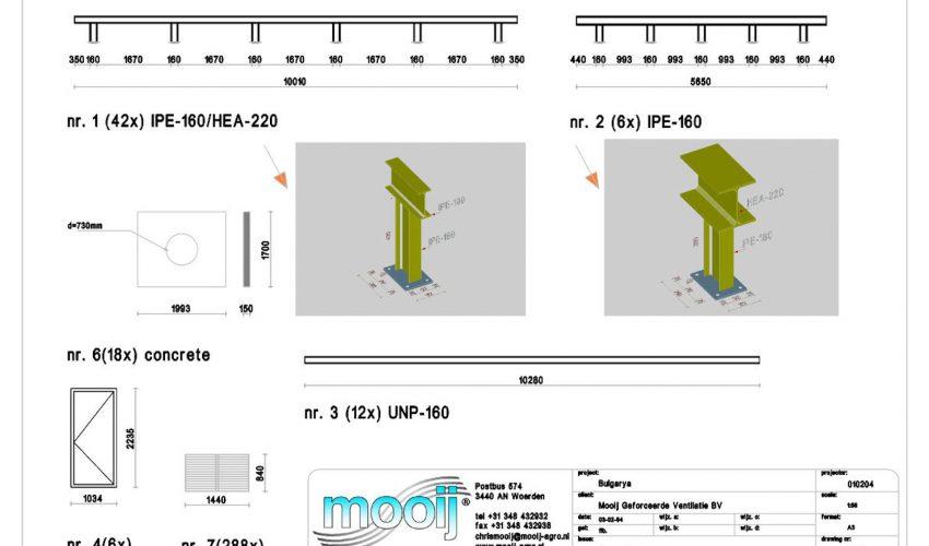 3d tekenwerk ventilatie units