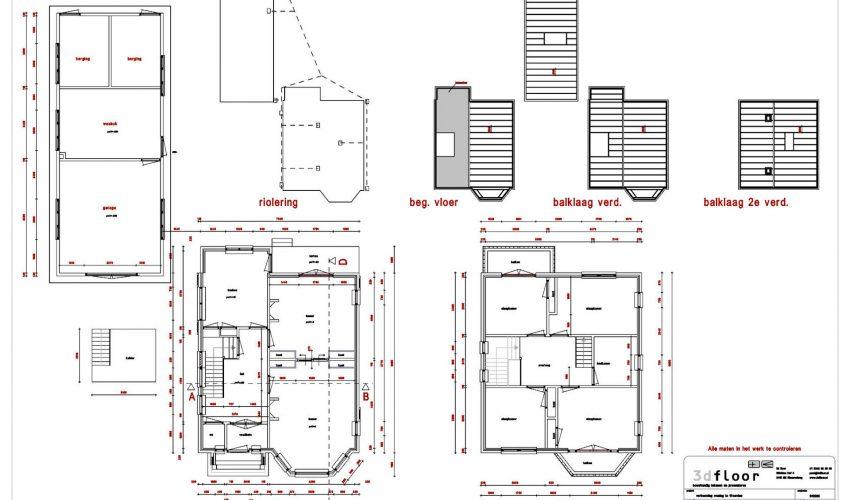 3d tekening maken huis simple modern huis zelf for Plattegrond van je huis maken
